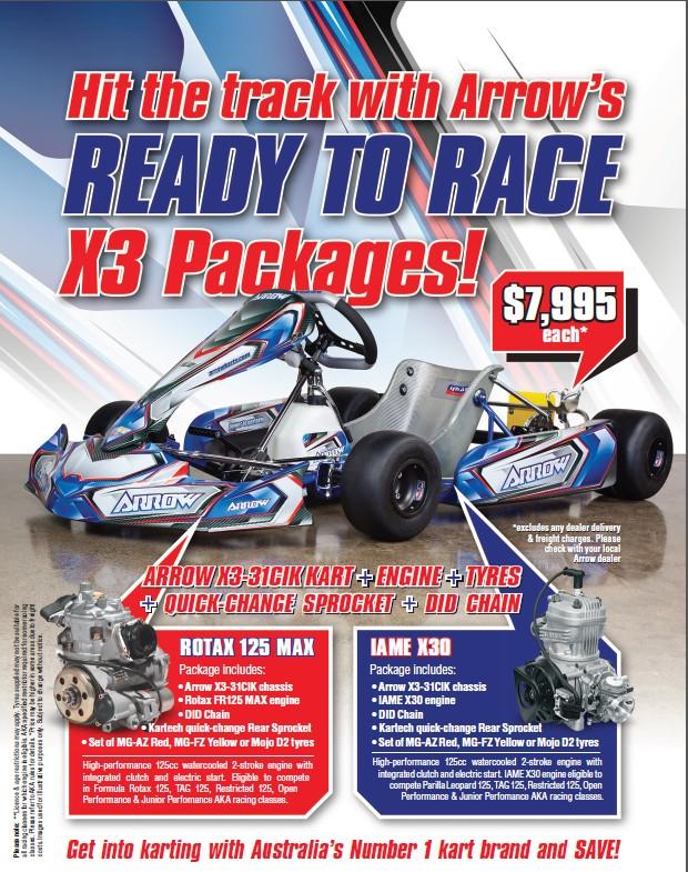 Arrow kart deal